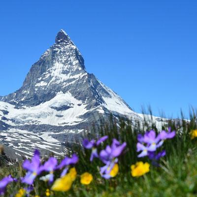 Berg in der Schweiz